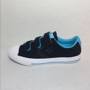 🛍 CONVERSE STAR PLAYER 3V OX black/blue/white